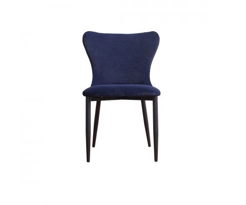 Kirkby Chair (Velvet Navy Blue)