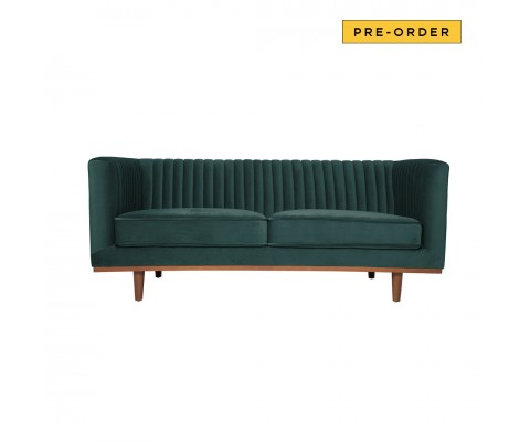 Freida 2 Seater (Emerald Green)
