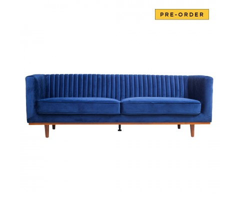 Freida 3 Seater (Regal Blue)