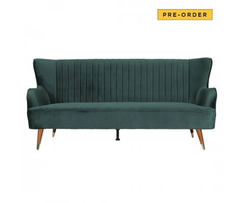Krona 3 Seater Sofa (Emerald Green)