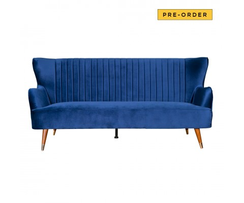Krona 3 Seater Sofa (Regal Blue)