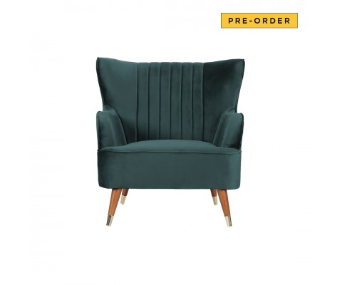 Krona Armchair Sofa (Emerald Green)
