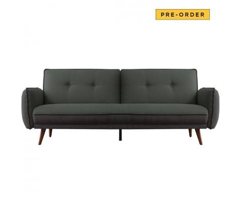 Tupplur 3 Seater Sofa Bed (Green)