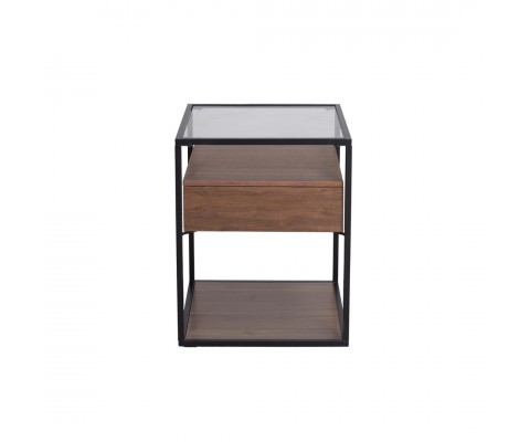 AYRA SIDE TABLE (WALNUT)