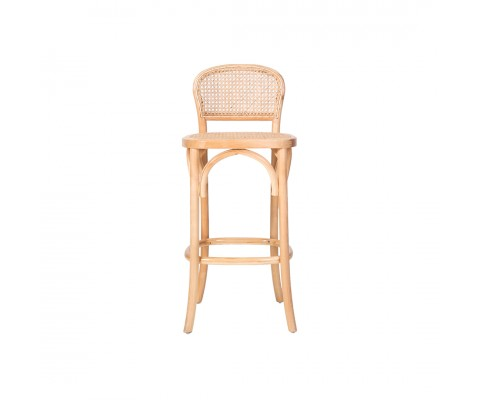 Bylba Rattan Stool (Natural)