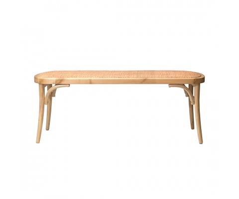 Luvisa Rattan Bench (Natural)