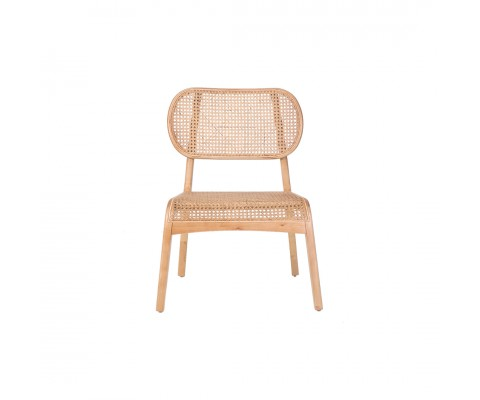 Luvisa Rattan Lounge Chair (Natural)