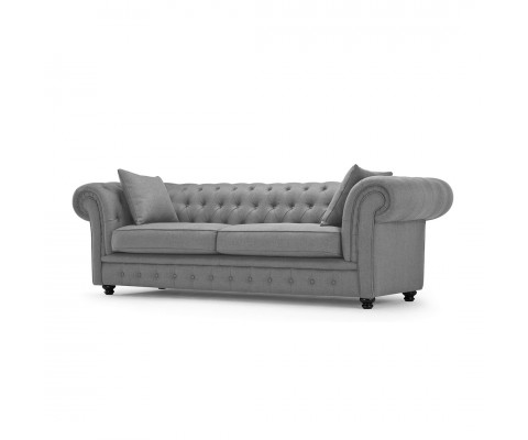 Chesterfield 3 Seater (Easy Clean Fabric)