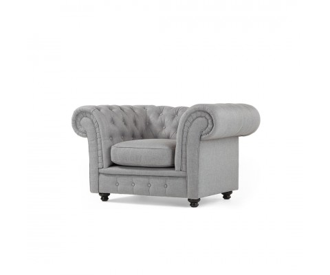 Chesterfield Armchair (Easy Clean Fabric)