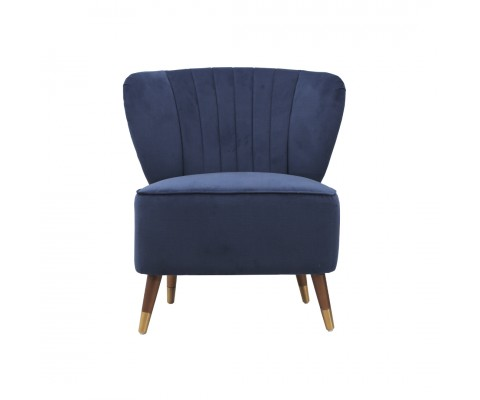 Frey Lounge Chair (Dark Blue)