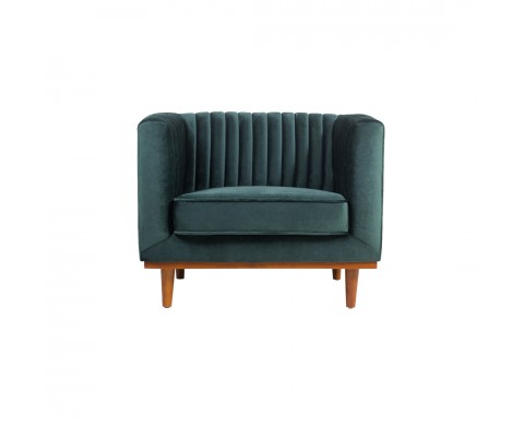 Freida Armchair (Emerald Green)