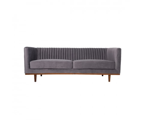 Freida 2 Seater (Ash Grey)