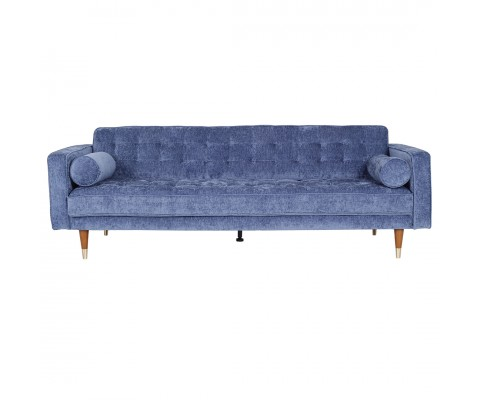 Ashleyy 3 Seater (Blueberry Blue)