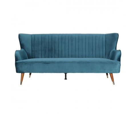 Krona 3 Seater Sofa (Teal Green)