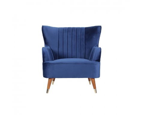 Krona Armchair Sofa (Regal Blue)