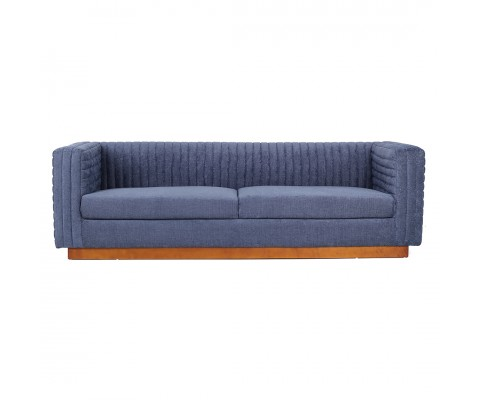 Lindst 4 Seater Sofa (Blue)