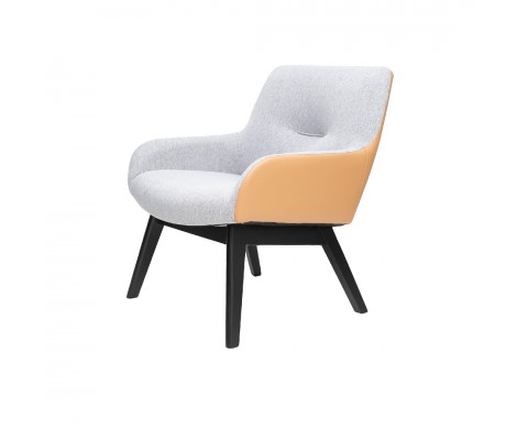 Clara Lounge Chair (Beige)