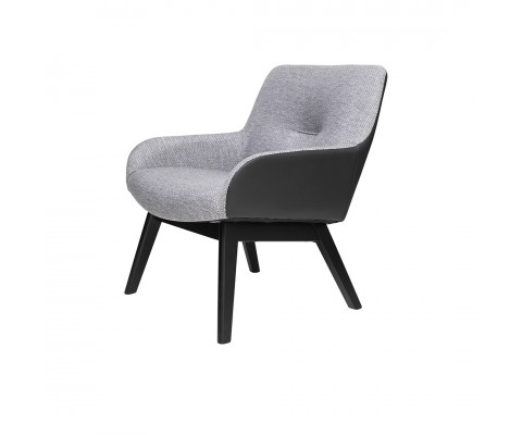 Clara Lounge Chair (Black)