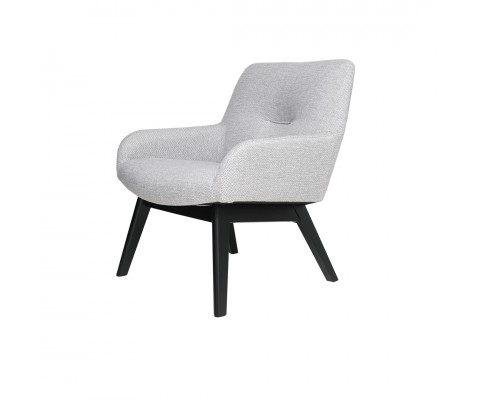 Clara Lounge Chair (Light Grey)