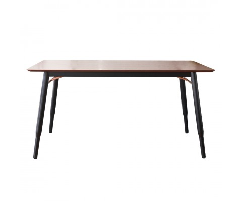 Karin 1.5M Dining Table (Walnut)