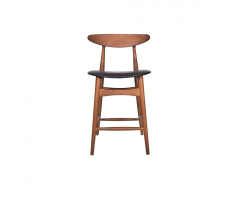 Flora Counter Stool (Walnut)