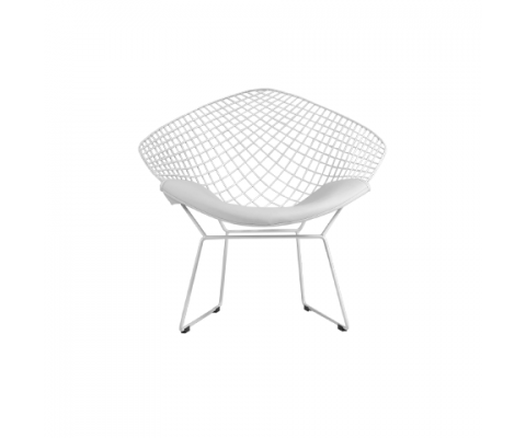 Lazze Wire Chair (White)