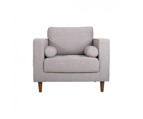 Ludvig Armchair Sofa (Light Grey)