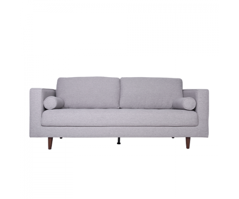 LUDVIG 3 SEATER SOFA (LIGHT GREY)