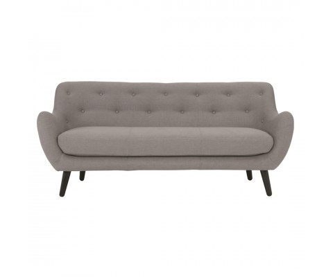 Alfa 3 Seater Sofa (Grey)
