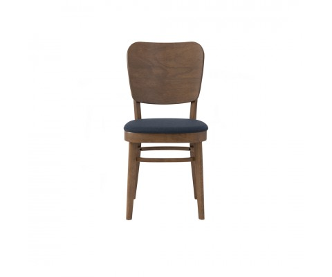 Beverly Dining Chair (Walnut-Navy)