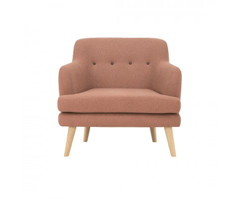 Exelero Armchair (Blush)