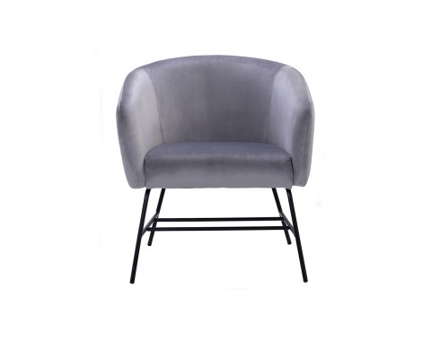 Galen Lounge Chair (Ash Grey)