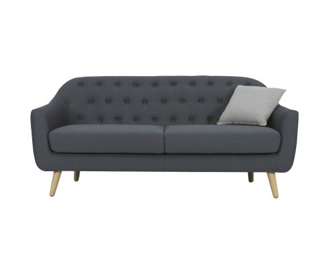 Senku 3 Seater Sofa (Grey)