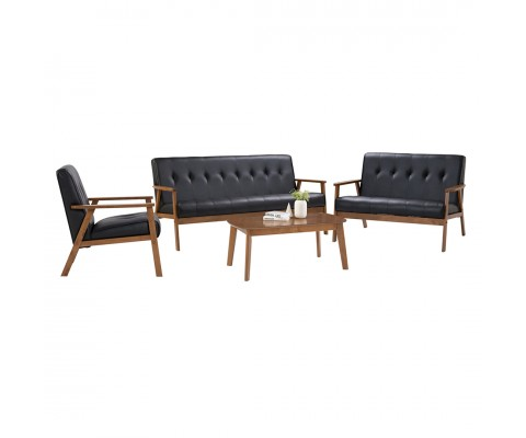 Triton 1+2+3 Sofa Set (Cocoa)
