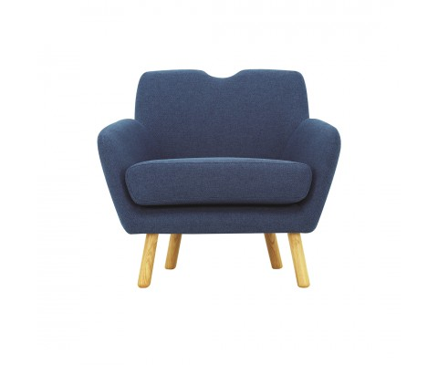 Wagon Armchair (Blue)