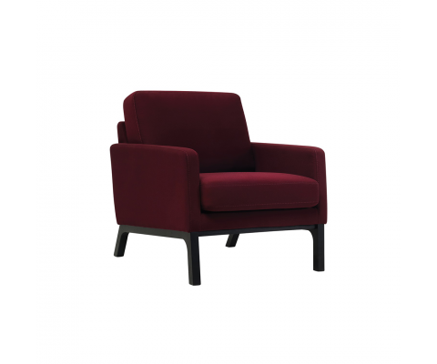 Ceres Lounge Chair (Ruby)