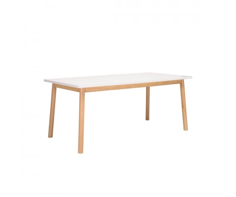 Dekel 1.8M Dining Table (Natural White)