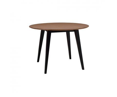 Platon Round Dining Table (Black)