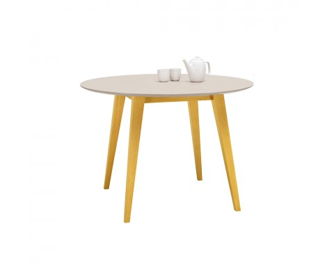 Platon Round Dining Table (Natural)