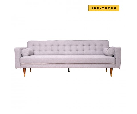 Ashleyy 3 Seater Sofa (Light Grey)