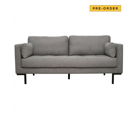 Herlene 3 Seater Sofa (Light Grey)