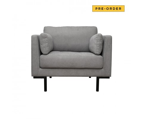 Herlene Armchair Sofa (Light Grey)