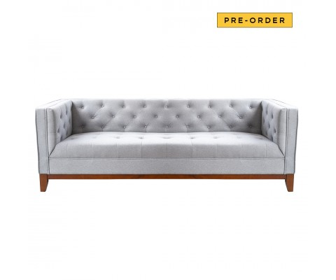 Karl 3 Seater Sofa (Light Grey)