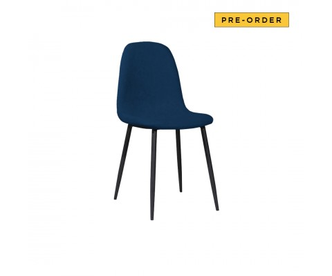 Oslo Chair (Velvet Navy)