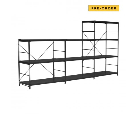 Vaggstall Shelve (Matt Black)