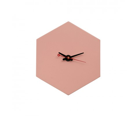 Fargerik Hexagon Wall Clock