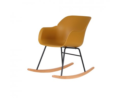 Kvall Rocking Chair (Mustard)