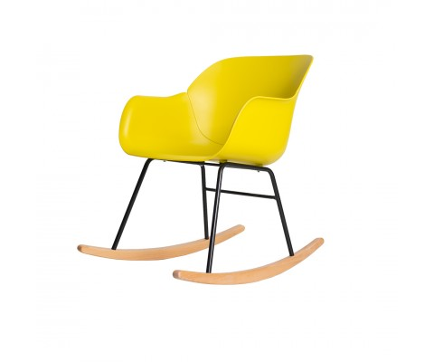Kvall Rocking Chair (Yellow)