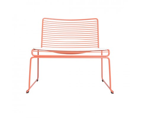Skovde Lounger (Fluorescent Orange)