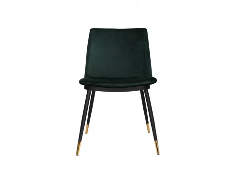 Thelma Chair Velvet Green